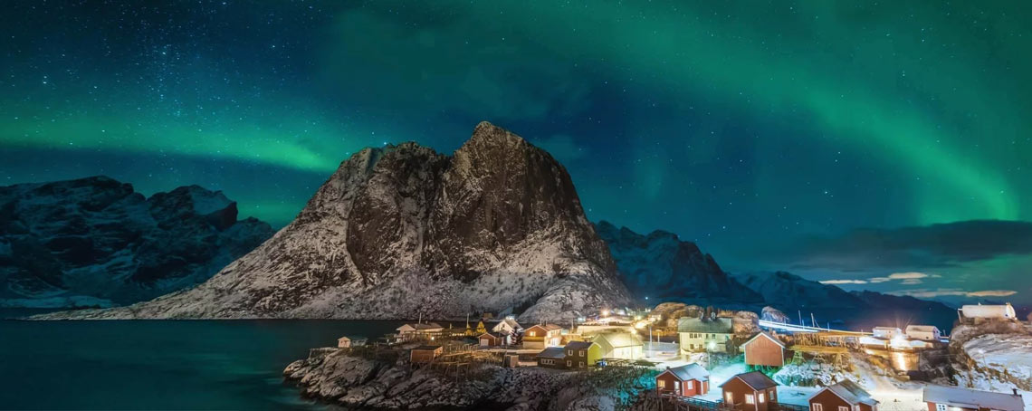 Magic of Northern Lights in Cruise