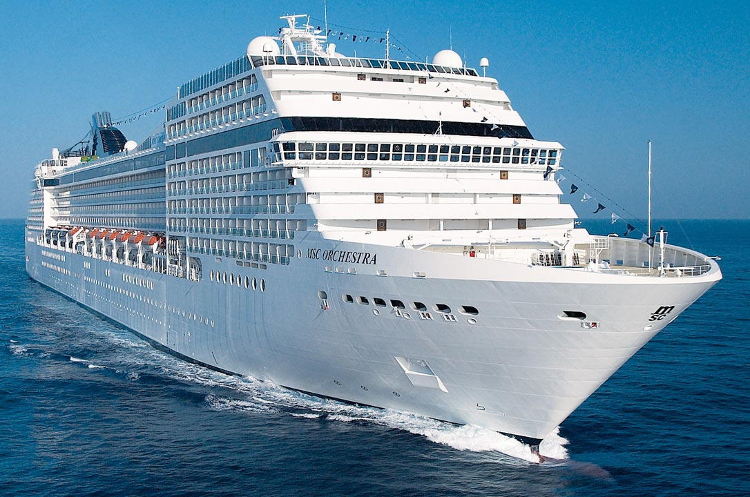 Cruise January 2020.Msc Orchestra 12 January 2020 From Cape Town Id